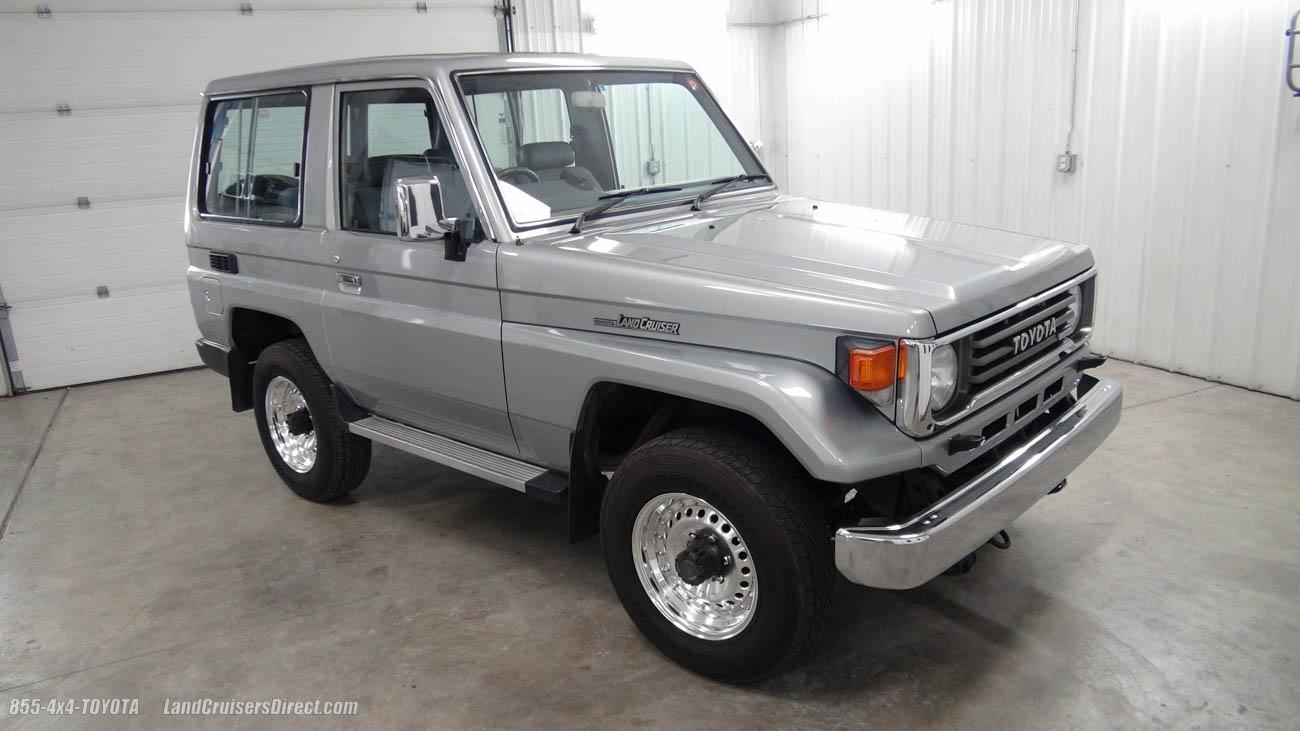 on Toyota Land Cruiser 70